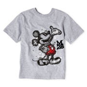 Disney Mickey Mouse Sketch Graphic Tee - Boys 2-12