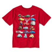 Disney Collection Cars Red Graphic Tee - Boys 2-12