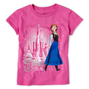 Disney Frozen Anna Graphic Tee - Girls 2-12