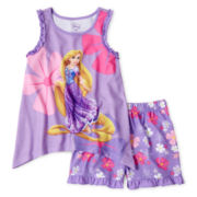 Disney Rapunzel 2-pc. Sleep Set - Girls 2-10