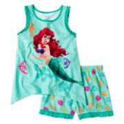Disney Ariel 2-pc. Sleep Set - Girls 2-10