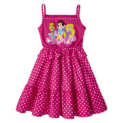 Disney Princesses Dress - Girls 2-10