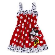 Disney Red Minnie Knit Dress - Girls 2-10