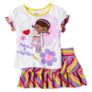 Disney Doc McStuffins Skirt Set - Girls 2-10
