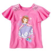 Disney Sofia Fashion Top - Girls 2-10