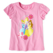 Disney Princesses Fashion Top - Girls 2-10