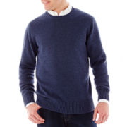 St. John's Bay® Long-Sleeve Crewneck Sweater