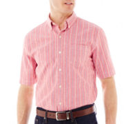 St. John's Bay Short-Sleeve Oxford Shirt