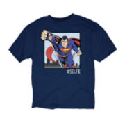 Superman Selfie Graphic Tee