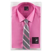 JF J. Ferrar Shirt and Tie Box Set
