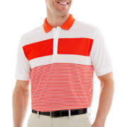 Jack Nicklaus® Printed Engineered Striped Polo