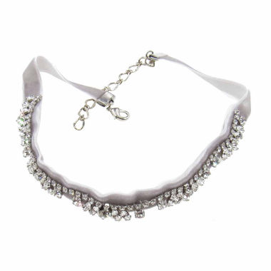 jcpenney.com | Vieste Rosa Womens White Brass Choker Necklace