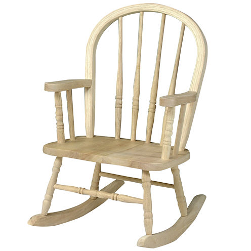 Juvenile Windsor Kids Chair-Natural