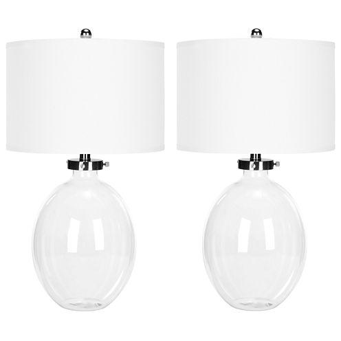 Safavieh Neville Clear Glass Table Lamp