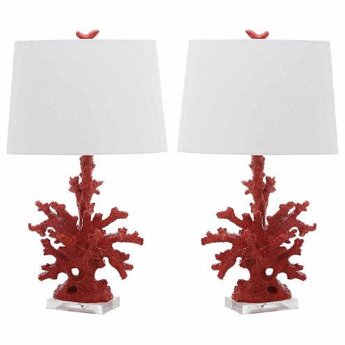 Safavieh Coral Branch Table Lamp