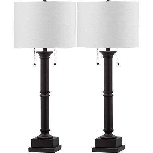 Safavieh Estilo Column Table Lamp