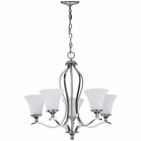 Safavieh Celeste 5 Light Chrome Chandelier
