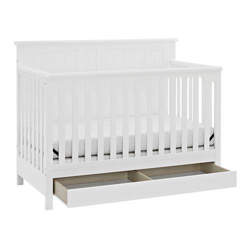Storkcraft Davenport 5-in-1 Covertible Crib-White