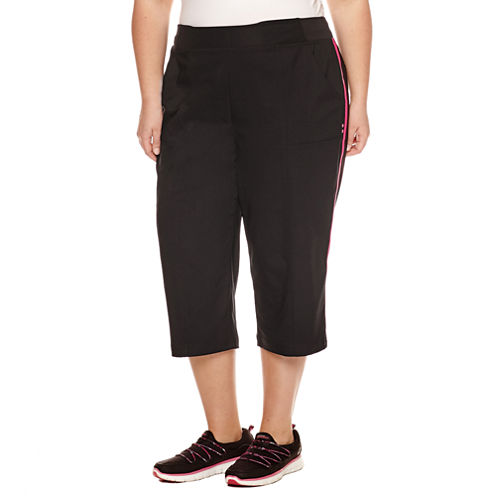 "Made For Life Woven Capris-Plus (21"")"