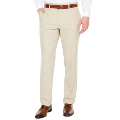 Jf J.Ferrar Tan Stretch Super Slim Fit Suit Pants by Jf J.Ferrar
