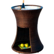 Apollo Outdoor Wicker Beverage Caddy