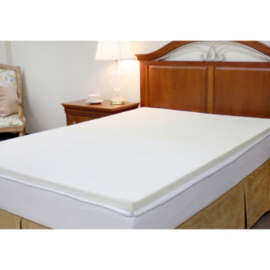 "jcpenney.com | Pure Rest™ 1.5"" Memory Foam Topper"