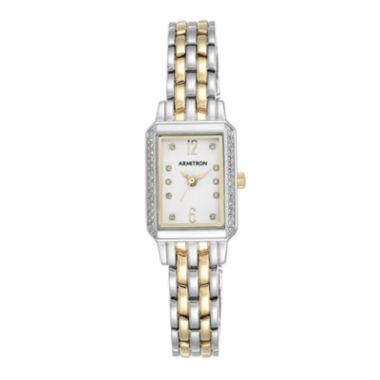 jcpenney.com | Armitron® Womens 5411 Two-Tone Bracelet Watch