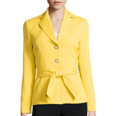 jcpenney.com | Chelsea Rose Long-Sleeve Textured Jacket with Self Tie