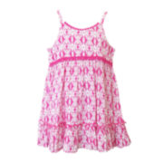 Lilt Aztec Print Dress - Toddler Girls 2t-4t