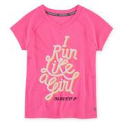Xersion™ Quick-Dri Graphic Tee - Preschool Girls 4-6x