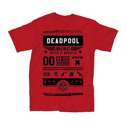 Deadpool Street Short-Sleeve Tee