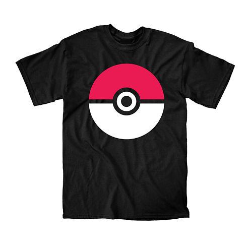 Pokeball Short-Sleeve Graphic T-Shirt