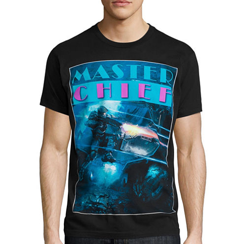 Halo Master Chief Short-Sleeve Graphic Tee
