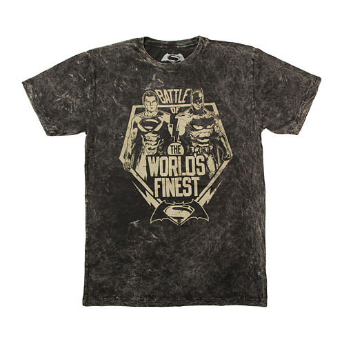 Of Justice Worlds Short-Sleeve Graphic  T-Shirt