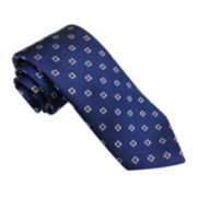 Stafford® Marco Bay Textured Neat Silk Tie - Slim