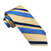 Stafford® Perfectly Plaid Stripe Silk Tie