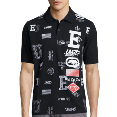 jcpenney.com | Ecko Unltd.® Stacked Block Short-Sleeve Polo