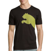 Puma® Short-Sleeve Wrapping Large Tee
