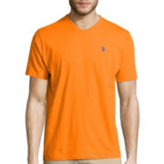 U.S. Polo Assn.® Short-Sleeve V-Neck Tee