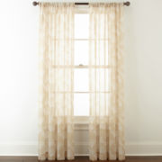 Home Expressions™ Orlando Rod-Pocket Sheer Curtain Panel