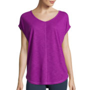 Xersion™ Short-Sleeve Cocoon Studio T-Shirt