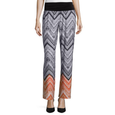 jcpenney.com | Alyx® Bootcut Printed Palazzo Pants