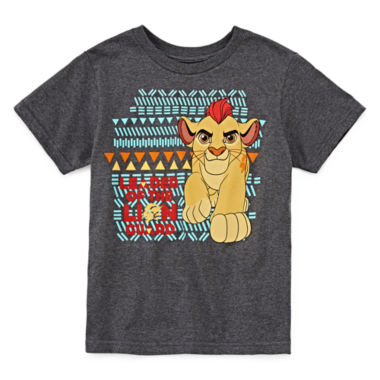 jcpenney.com | Disney Collection Lion Guard Short-Sleeve Cotton Graphic Tee - Boys 2-10