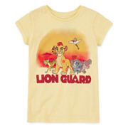 Disney Collection Lion Guard Short-Sleeve Graphic Tee - Girls