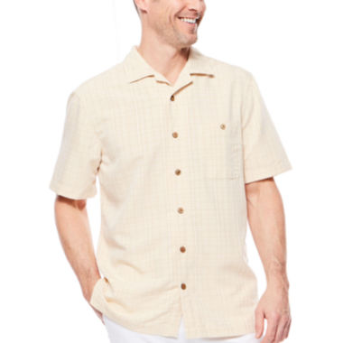 jcpenney.com | Island Shores™ Short-Sleeve Button-Front Shirt