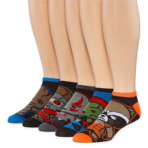 Marvel® Guardians of the Galaxy 5-pk. Low Cut Socks