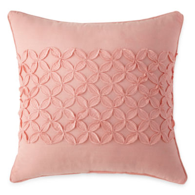 Home Expressions Emma Floral Square Decorative Pillow