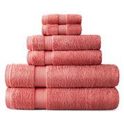 Royal Velvet Pink Bath Towels For Bed Bath Jcpenney