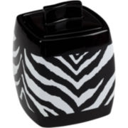 Creative Bath™ Zebra Jar