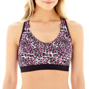 Marie Meili Wireless Crop Top Racerback Bra